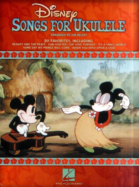 Boek cover Disney Songs For Ukulele van Hal Leonard Corp. (Paperback)