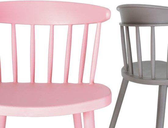 Licht Roze Stoel : Bol.com issie odi stoel bloesem roze