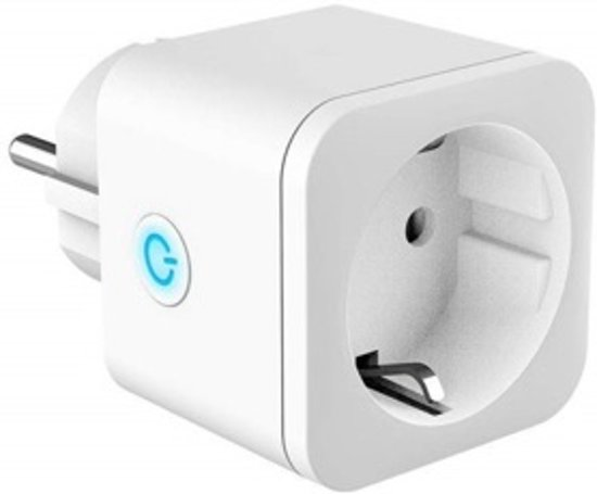 Energiebesparende slimme stekker: afstandbedienbaar met smartphone en/of spraak | wifi stopcontact | huisautomatisering | smart plug | Amazon Alexa | Google Home Assistant