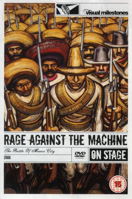 Cover van de film 'Rage Against The Machine - The Battle Of Mexico City'