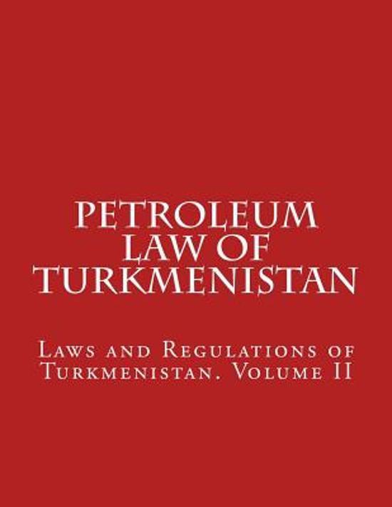 Petroleum Law of Turkmenistan