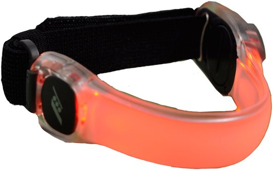 Rucanor LED Armband - Accessoires  - rood - ONE