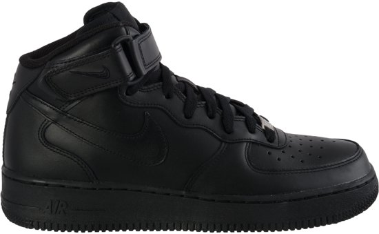 nike air force 1 zwart heren