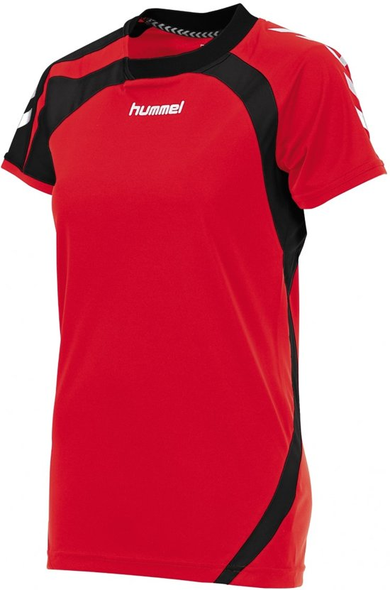 Hummel Odense Ladies - Voetbalshirt - Vrouwen - Maat M - Rood