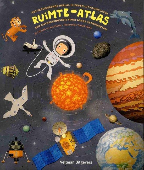 Ruimte-atlas als een van de leukste kinderboeken over Ruimte