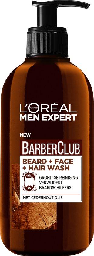 L'Oréal Paris Men Expert L'Oréal BarberClub Beard + Face + Hair Wash 200ml