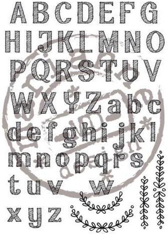 Marianne Design Stempel Elines alfabet EC0153