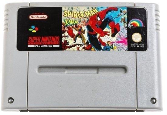Spiderman X-men Arcade`s Revenge - Super Nintendo [SNES] Game PAL