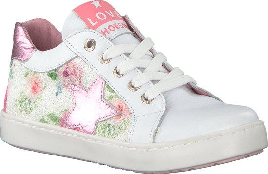 Shoesme Meisjes Lage sneakers Ur8s044 Wit Maat 26