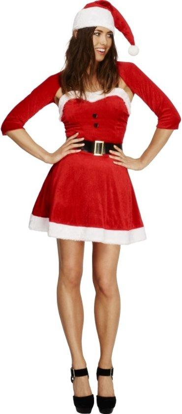 Kort kerst jurkje met bolero 44-46 (l)