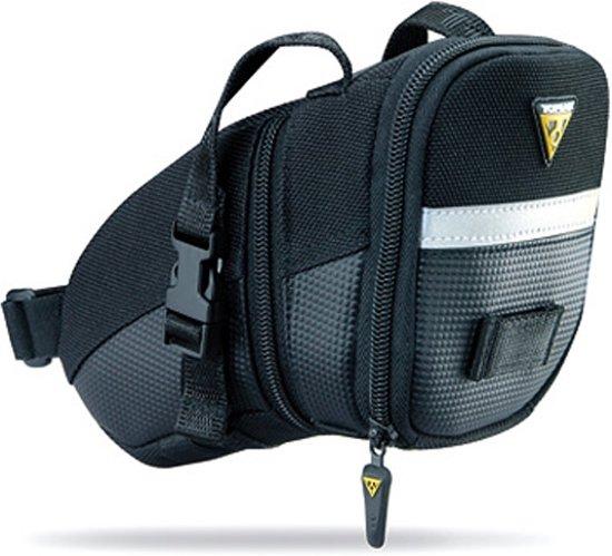 Topeak Aero Wedge Packs Medium - Zadeltas - 1.2 l - Zwart