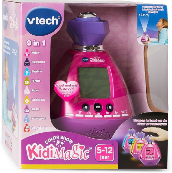 VTech KidiMagic Color Show - Multifunctionele Wekker