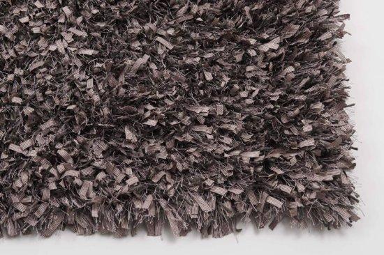 Donna 41 hoogpolig vloerkleed in oudroze poedertinten