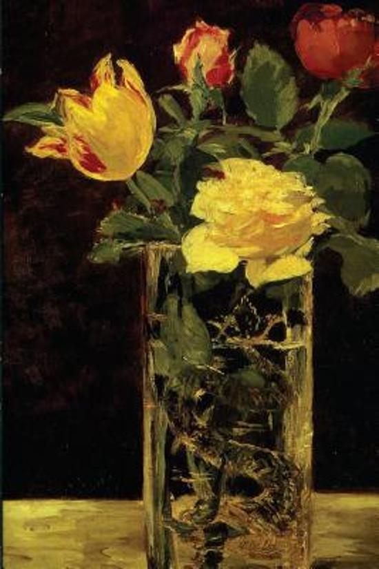 Rose and Tulip by Edouard Manet - 1882