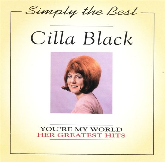 Bolcom Youre My World Her Greatest Hits Cilla Black Cd