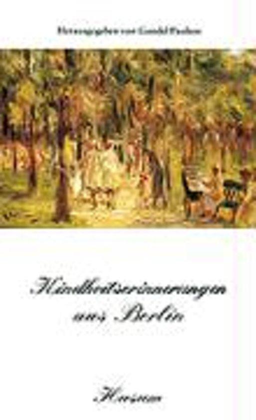 Kindheitserinnerungen aus Berlin