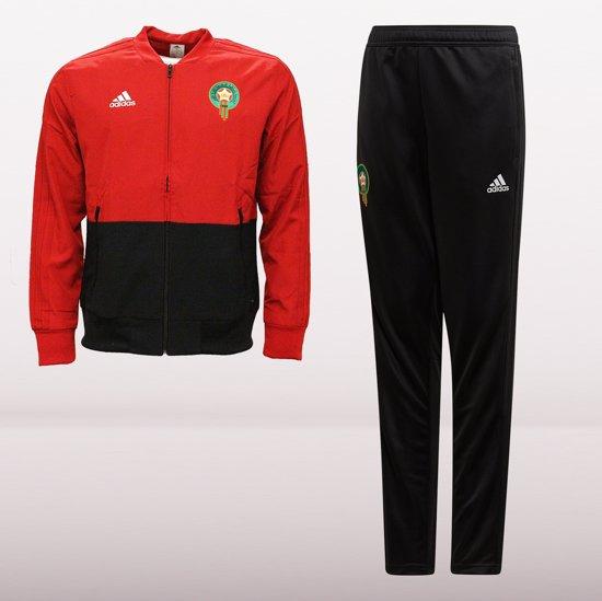 | adidas Marokko Trainingspak 2019 Junior Rood