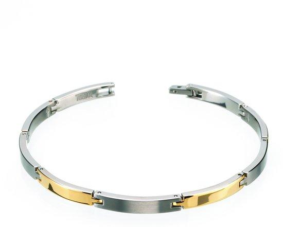Boccia Titanium 0319-05 Armband - Titanium - Bicolor