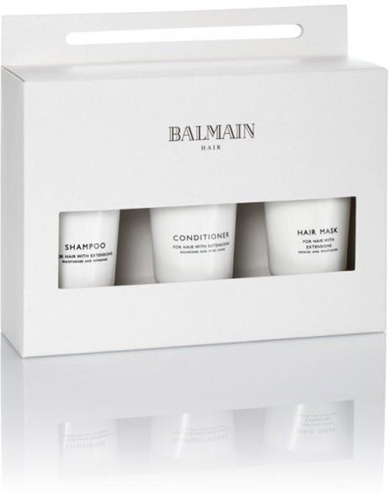 Balmain Hairetensions, Travelset, Shampoo, Conditioner, Mask