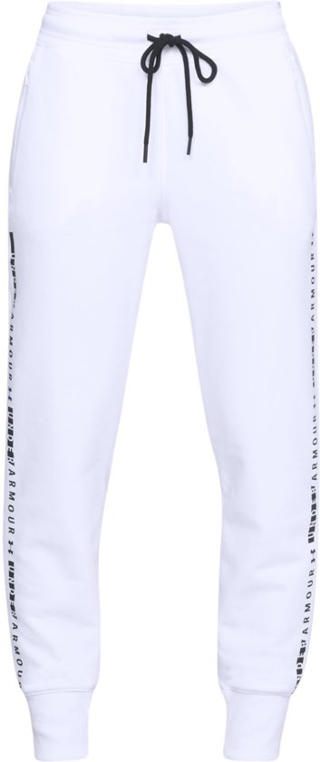 Warme Joggingbroek Dames.Bol Com Under Armour Tb Ottoman Fleece Pant Sportbroek Dames Wit