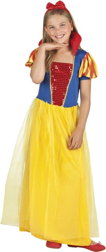 6 stuks: Prinses Amber Tienerkostuum - 10-12 jaar