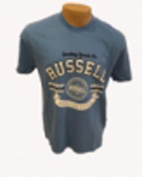 Lichtblauw Russell Shirt Shirt T T Shirt Russell Lichtblauw Russell T 4RL5qjc3A