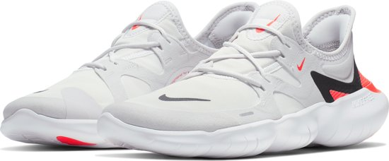 Nike Free Rn 5.0 Sportschoenen Heren - Vast Grey/Black-White-Brt Crimson
