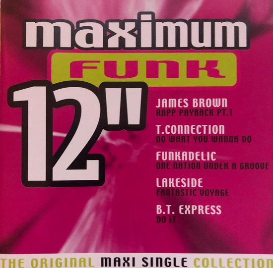 CD cover van Maximum Funk 12: The Original Maxi Single Collection van The Average White Band
