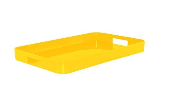 Zak!Designs New Gallery Dienblad - Medium - 43 x 29,2 cm - Geel