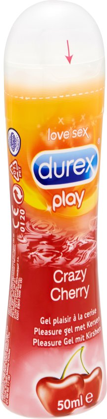 Durex Play Crazy Cherry Glijmiddel - Kers - 50 ml