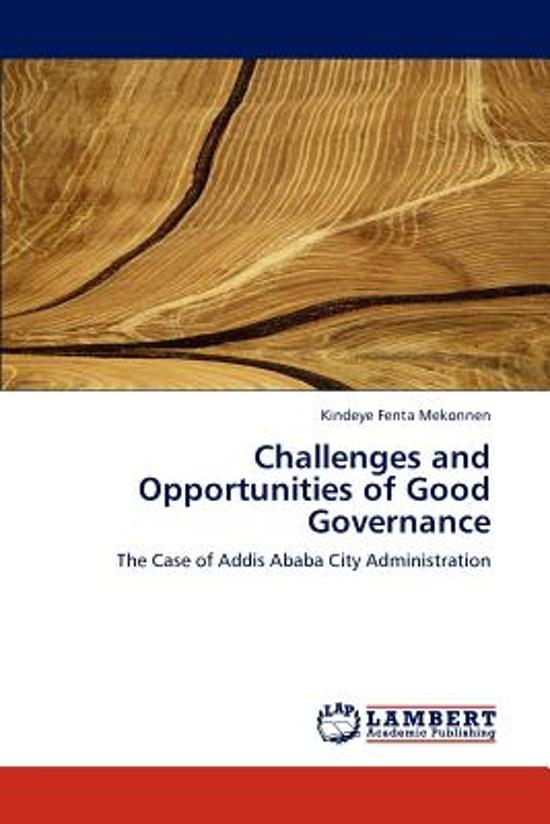 Challenges and Opportunities of Good Governance
