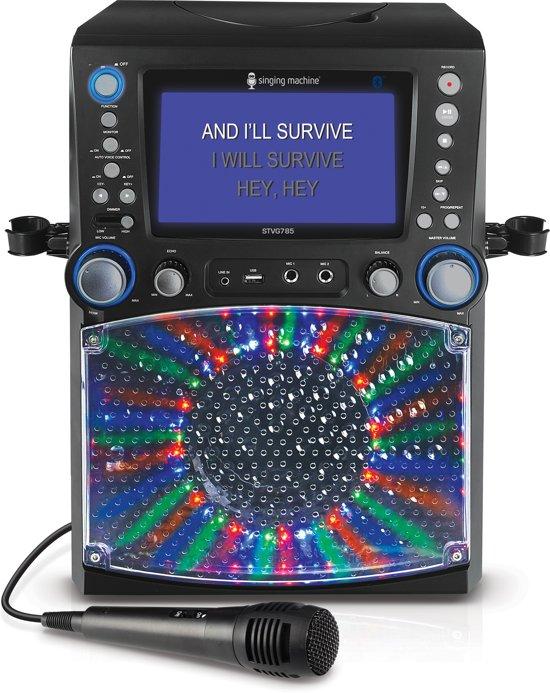 Singing Machine Classic Series Karaoke System Bluetooth/Voice Record