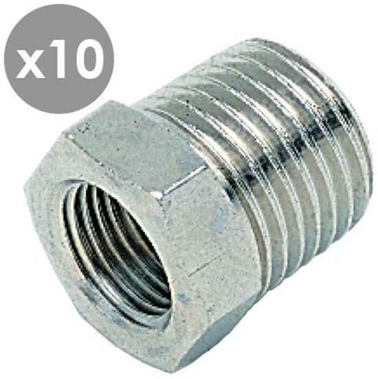 R3/4''Bu x G1/2''Bi verloopnippel (voordeel 10 stuks) - 20807-10