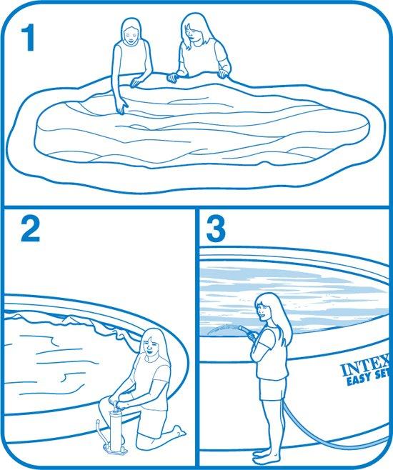 Intex Easy Set Pool Zwembad - 244 x 76 cm