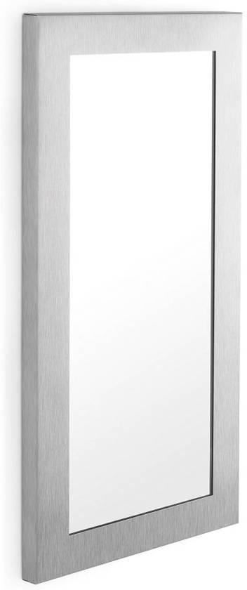 blomus muro spiegel rvs 70x35 cm zilver. Black Bedroom Furniture Sets. Home Design Ideas