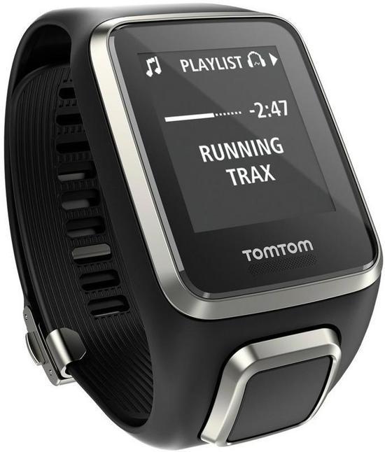 TomTom Spark Cardio Music - Activity tracker - Zwart - large