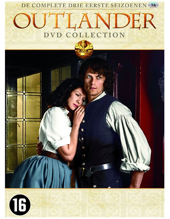 DVD cover van Outlander DVD Collection - Seizoen 1 t/m 3