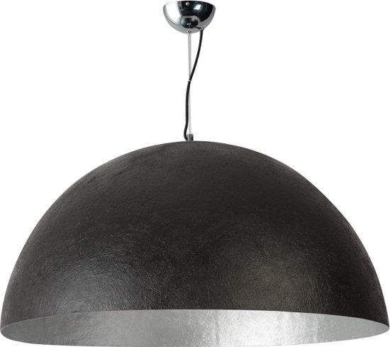 Iets Nieuws bol.com | ETH Mezzo Tondo - Hanglamp - 100cm - Zwart, Zilver #CW79