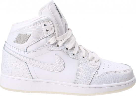 bol.com | Nike Sneakers Air Jordan 1 Retro Dames Wit Maat 38