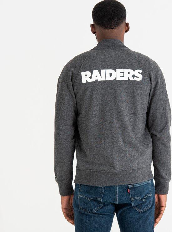 HerenGrey Jersey Med L Era Raiders Nfl Jacket Oakland New Maat Jas Varsity Core DWE2IH9