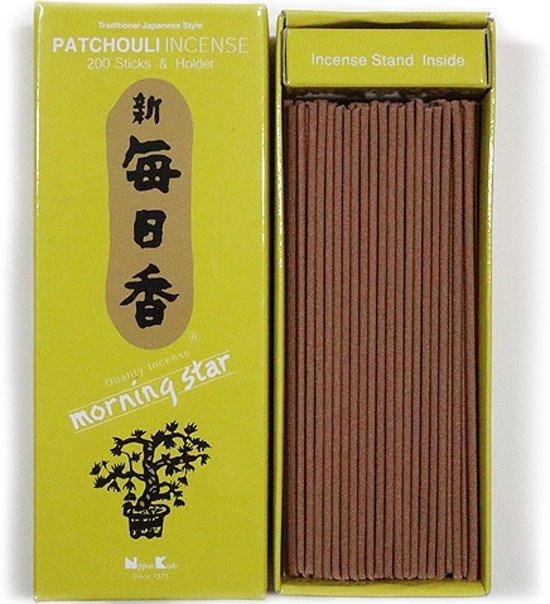 Nippon Kodo Morning Star - Patchouli - Japanse wierook - XL-pack - Gratis Verzending!!!