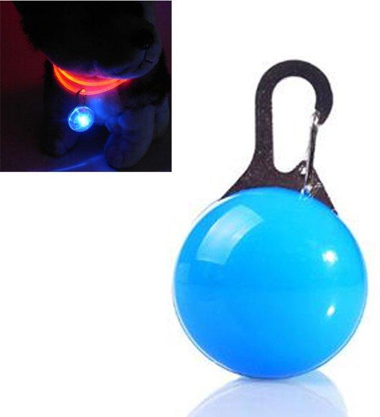 led honden halsband verlichting led lamp hondenriem licht voor aan de hondenriem blauw