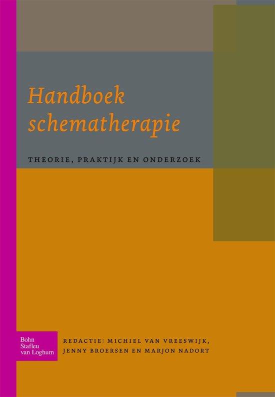 Boek cover Handboek schematherapie van M Vreeswijk (Onbekend)