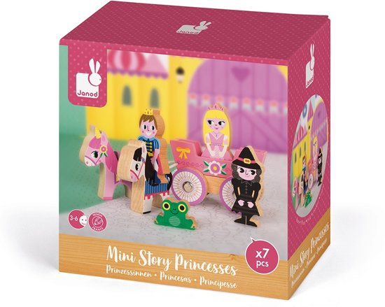 Janod Story Mini - prinses