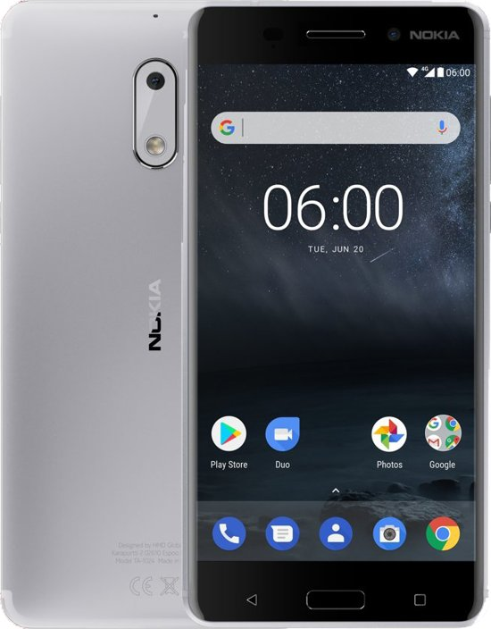 Nokia 6 - 32GB - Zilver