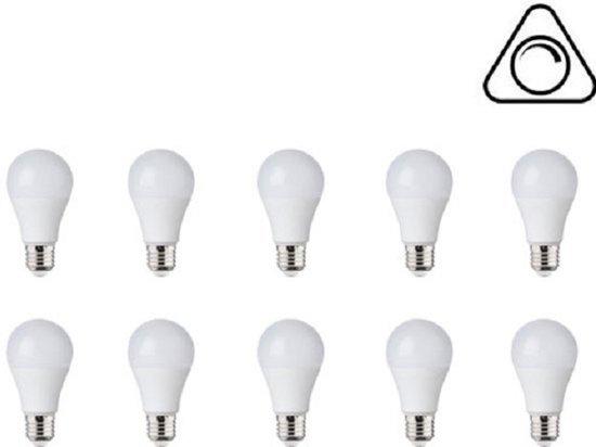 LED Lamp 10 Pack - Expert 10 - E27 Fitting - 10W Dimbaar - Helder/Koud Wit 6400K