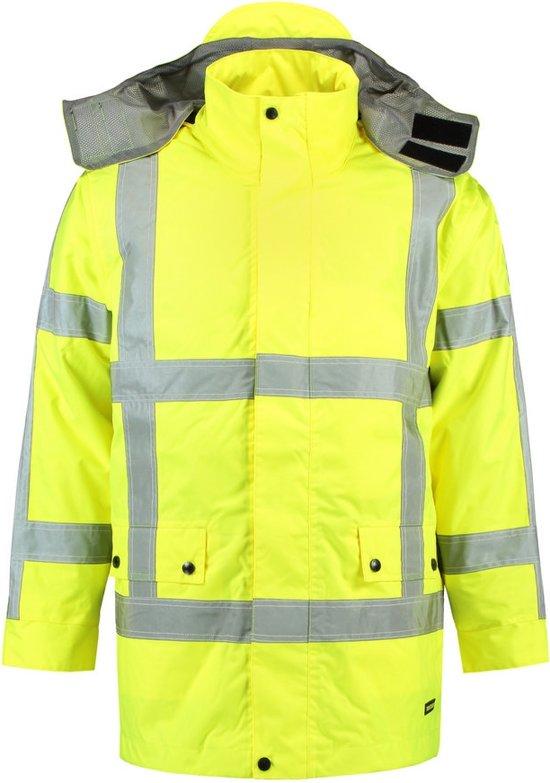 Tricorp Parka RWS - Workwear - 403005 - Fluor Geel - maat XS