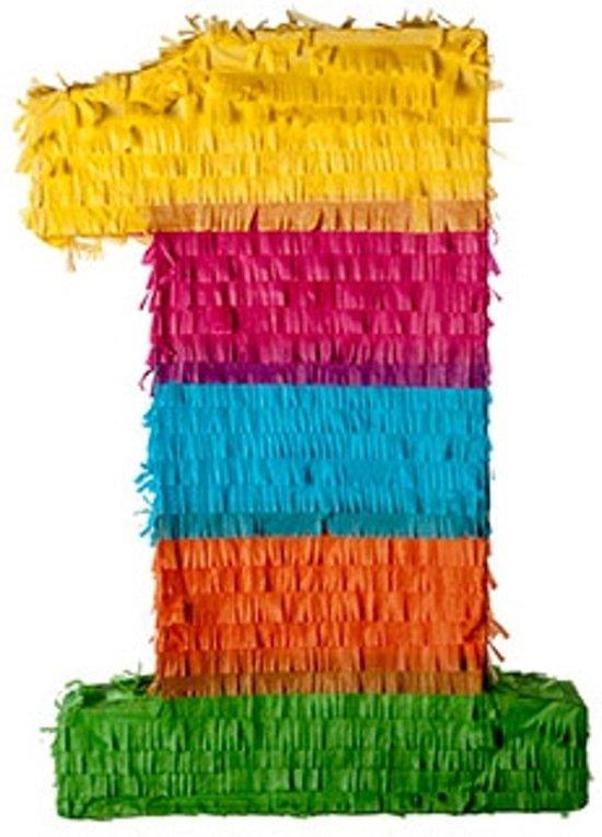 Pinata - cijfer 1 (traditionele piñata) Valentinaa
