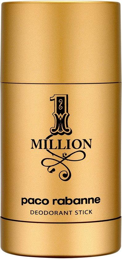 Paco Rabanne 1 million Deodorant Stick for Men - 75 ml