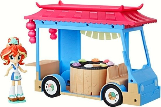 Hasbro My Little Pony Equestria Girls Minis - Sushi Truck i Sunset Shimmer C1840